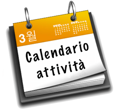 Risultati immagini per calendario attività'